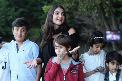 BAU'lu Yönetmen Sude Kızık Aylan Bebeğin Filmini Çekti